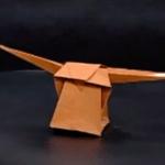 かごの折り紙