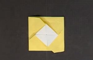 かんたんないれものの折り紙
