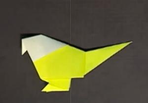 ことりの折り紙
