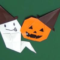 【折り方】ハロウィンハットの折り方動画