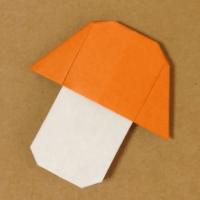 【折り方】きのこの折り紙の折り方動画