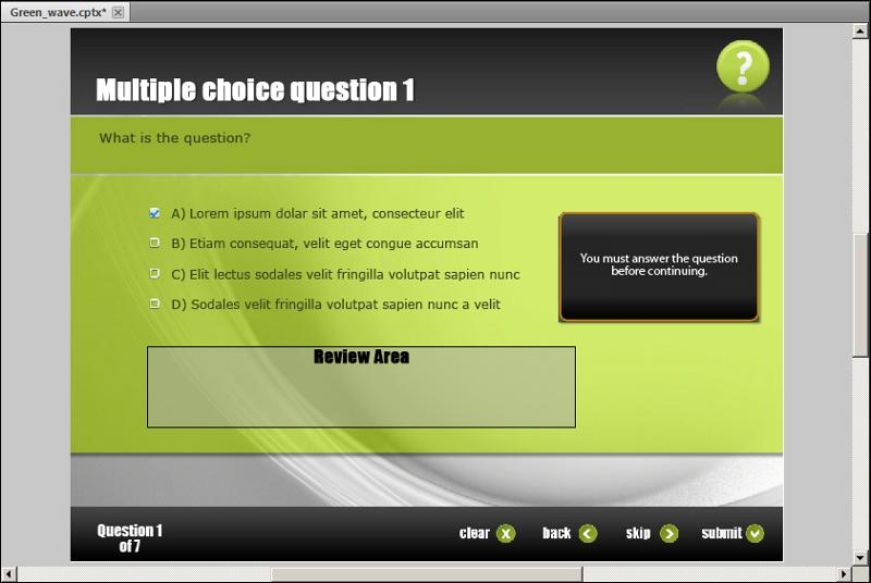 Top Result 60 Awesome Adobe Captivate Free Templates Picture 2017 - free quiz template