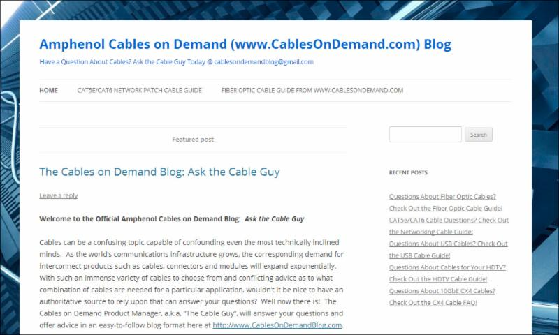 wire gauge Amphenol Cables on Demand (wwwCablesOnDemand) Blog