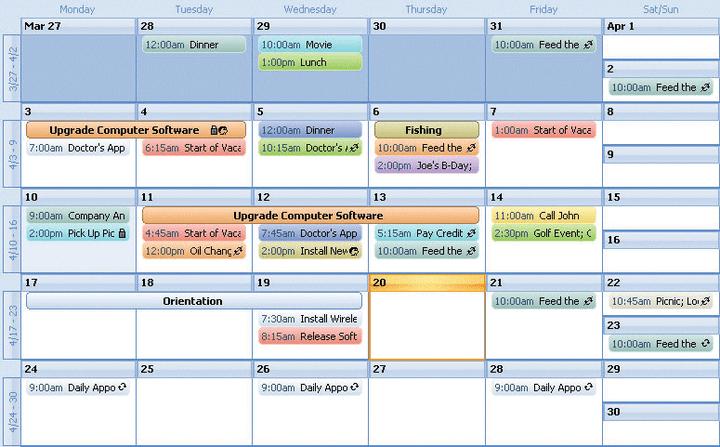 Create Calendar Using Xml Create A Page A Day Calendar In Indesign Indesignsecrets Codejock Calendar Visual C Mfc