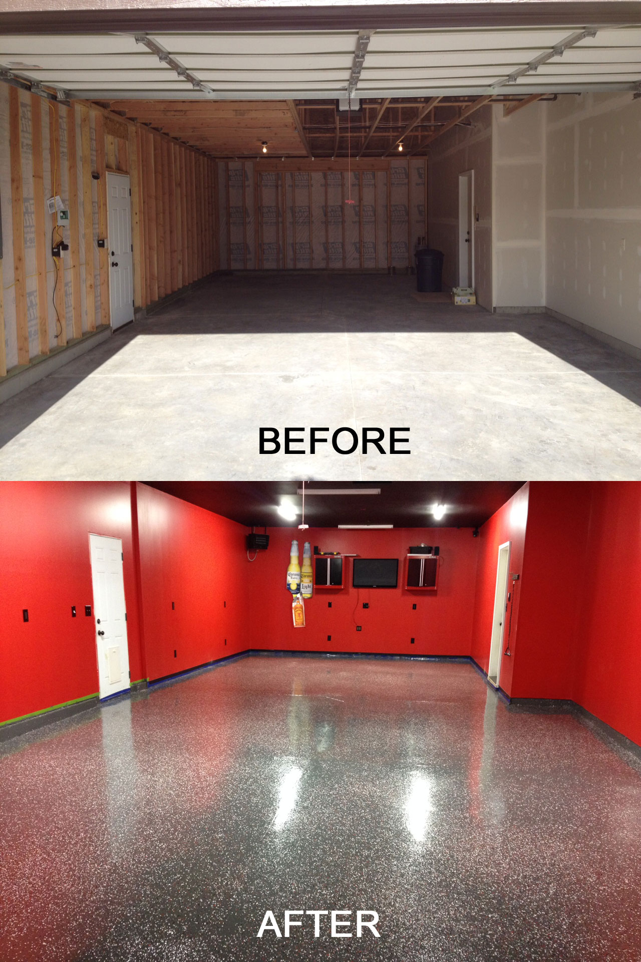 Garage Floor Paint In Basement Garage Floor Paint Epoxy Coating Epoxy Paint Color Chips