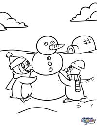 Penguins  Coloring Pages  Original Coloring Pages