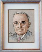 Harry S Truman Drawing