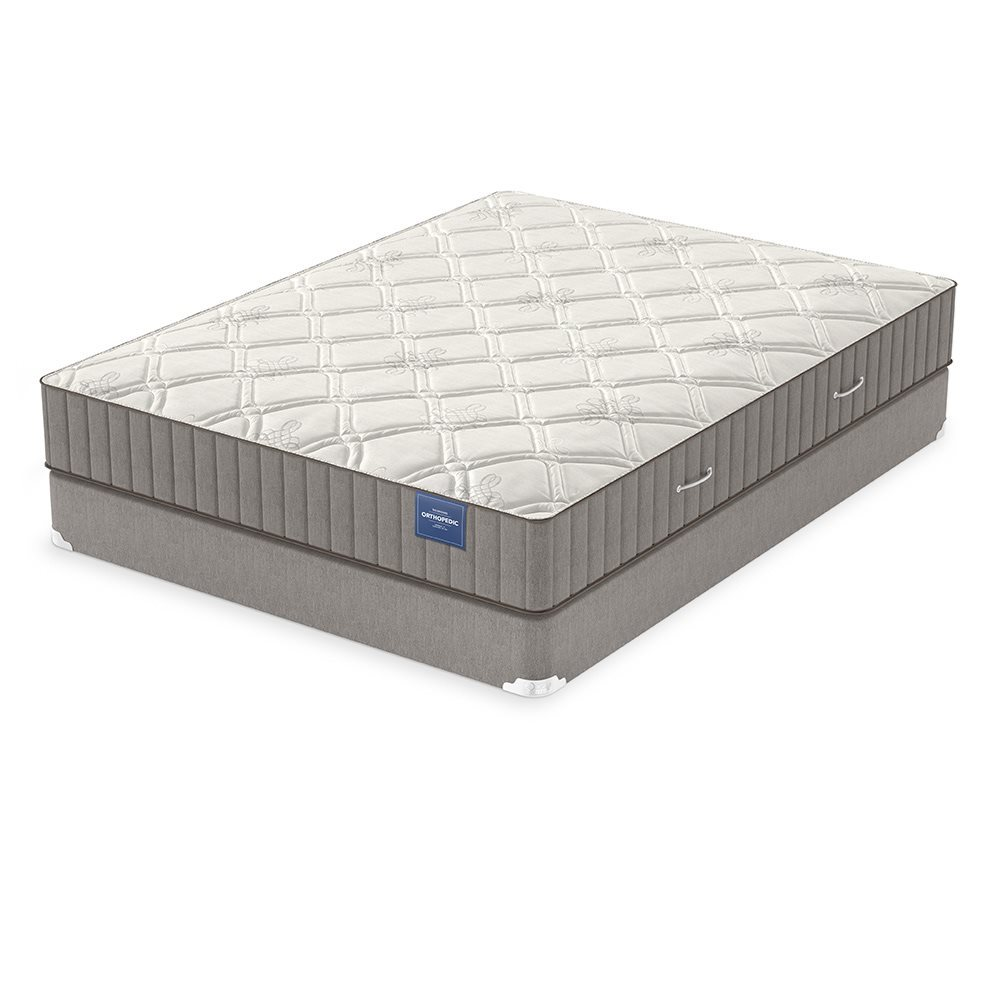Box Spring Orthopedic Luxury Firm Mattress Set
