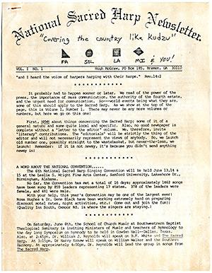 Vol. 1, No. 1: June, 1985