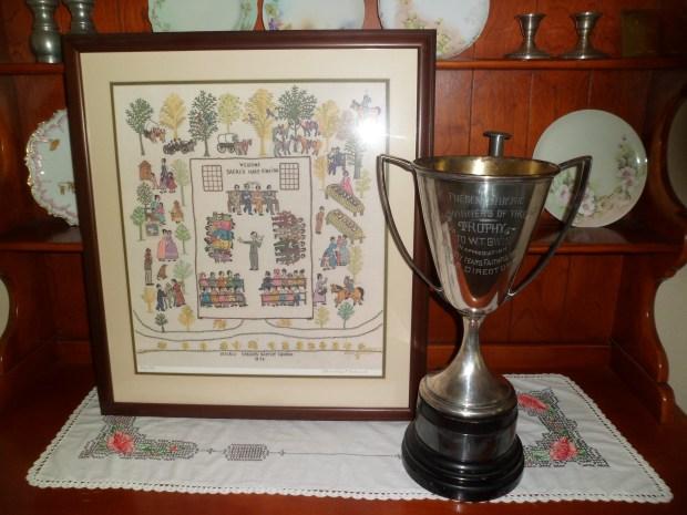 Mississippi Sacred Harp Trophy