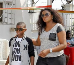 Omotola at her site