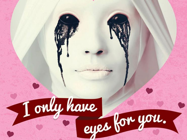 Give Your Loved One the Chills with These Creepy Valentine\u0027s Day Cards