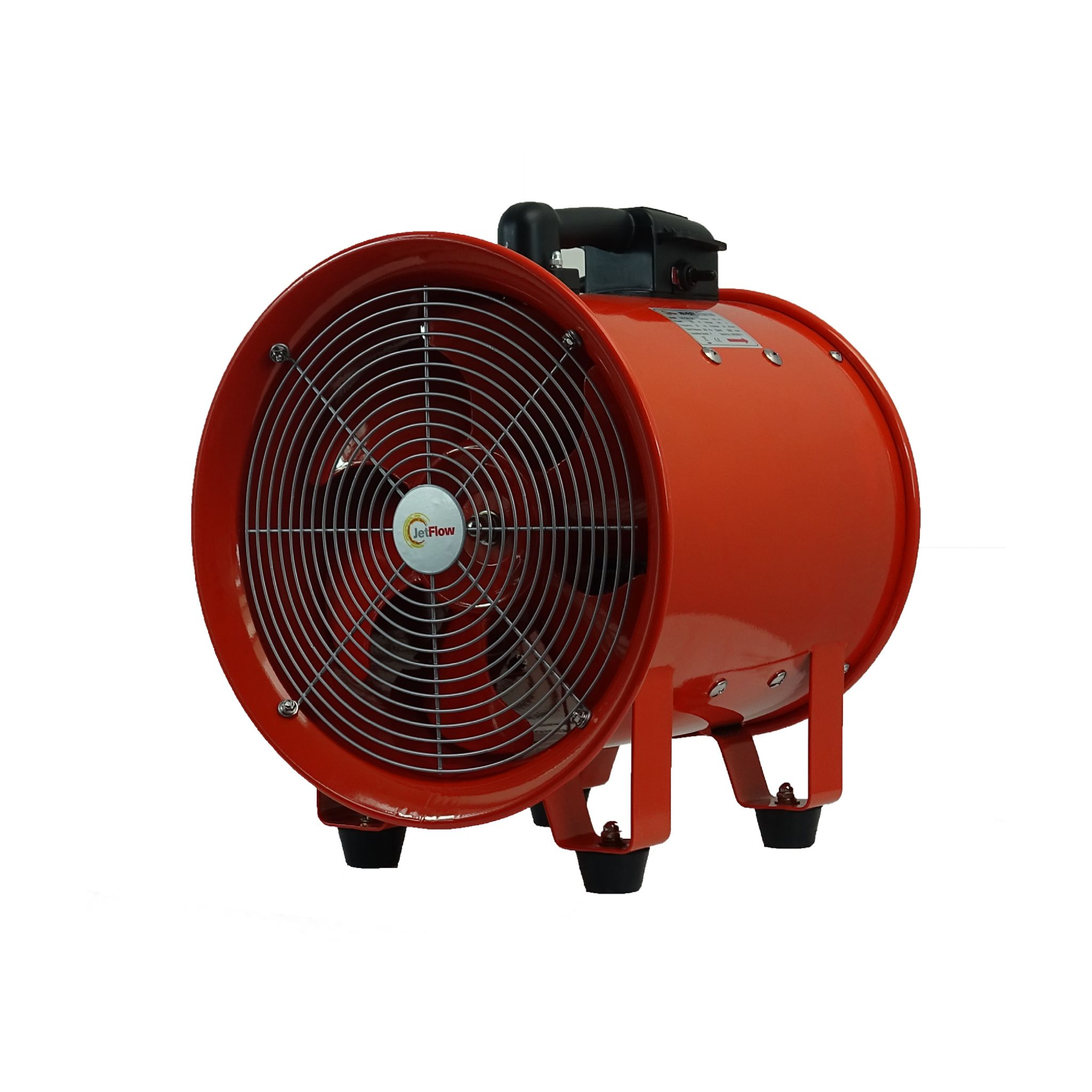 Portable Extractor Fan Extractor And Ventilator Fan 300mm 3600m3 Hr 110v And 220v 50hz