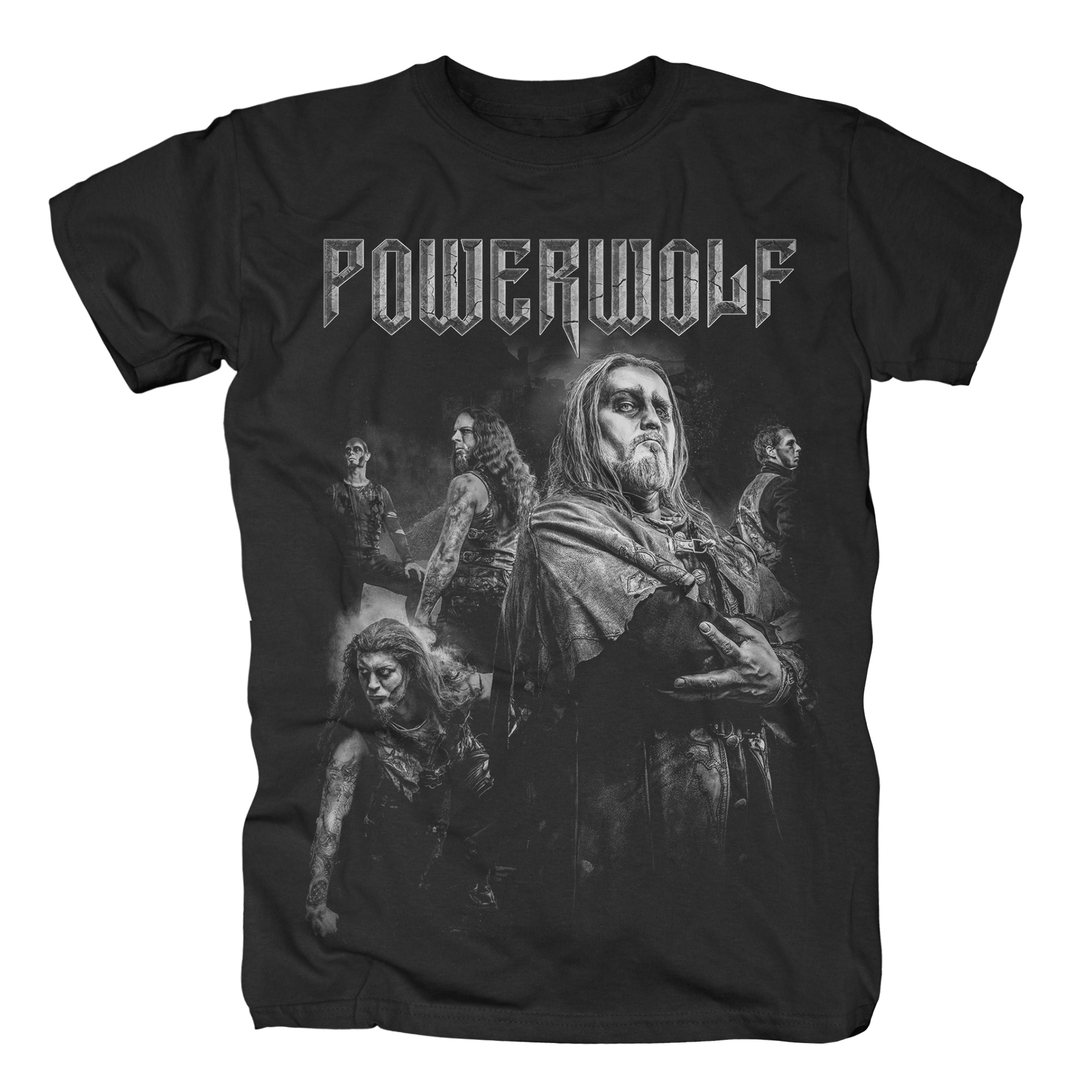 Powerwolf Dark Photo T Shirt Metal Rock Shirts