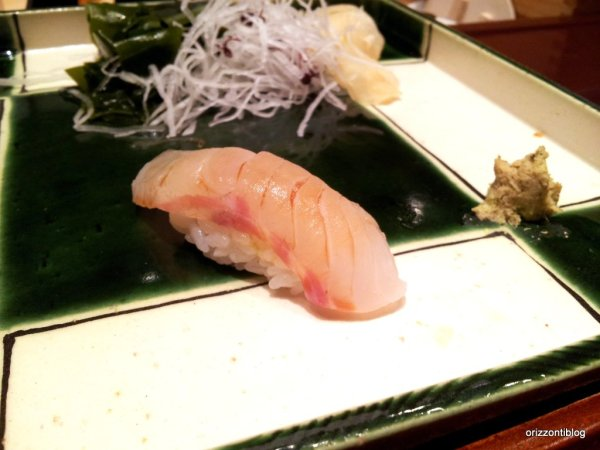 Il sushi di Ginza Kyubey