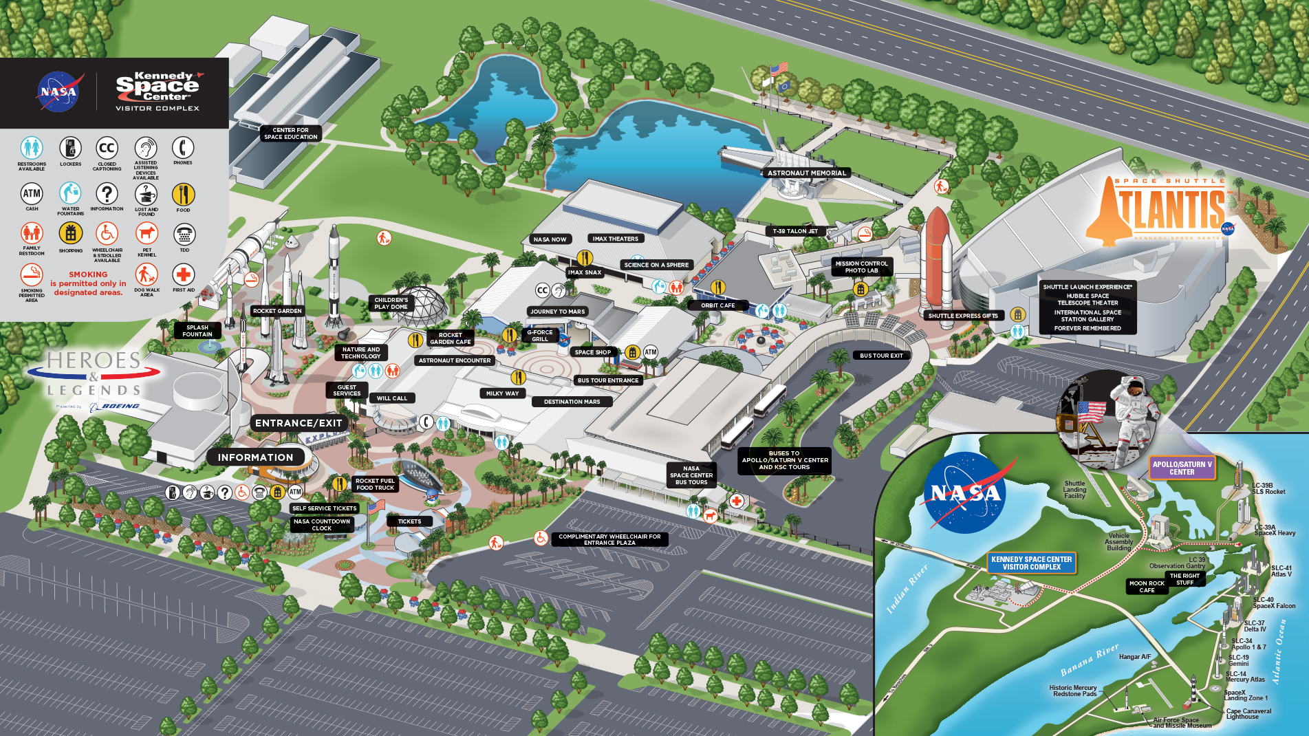 Kennedy Space Center Kennedy Space Center Discount Space Pass Plus Dine With An