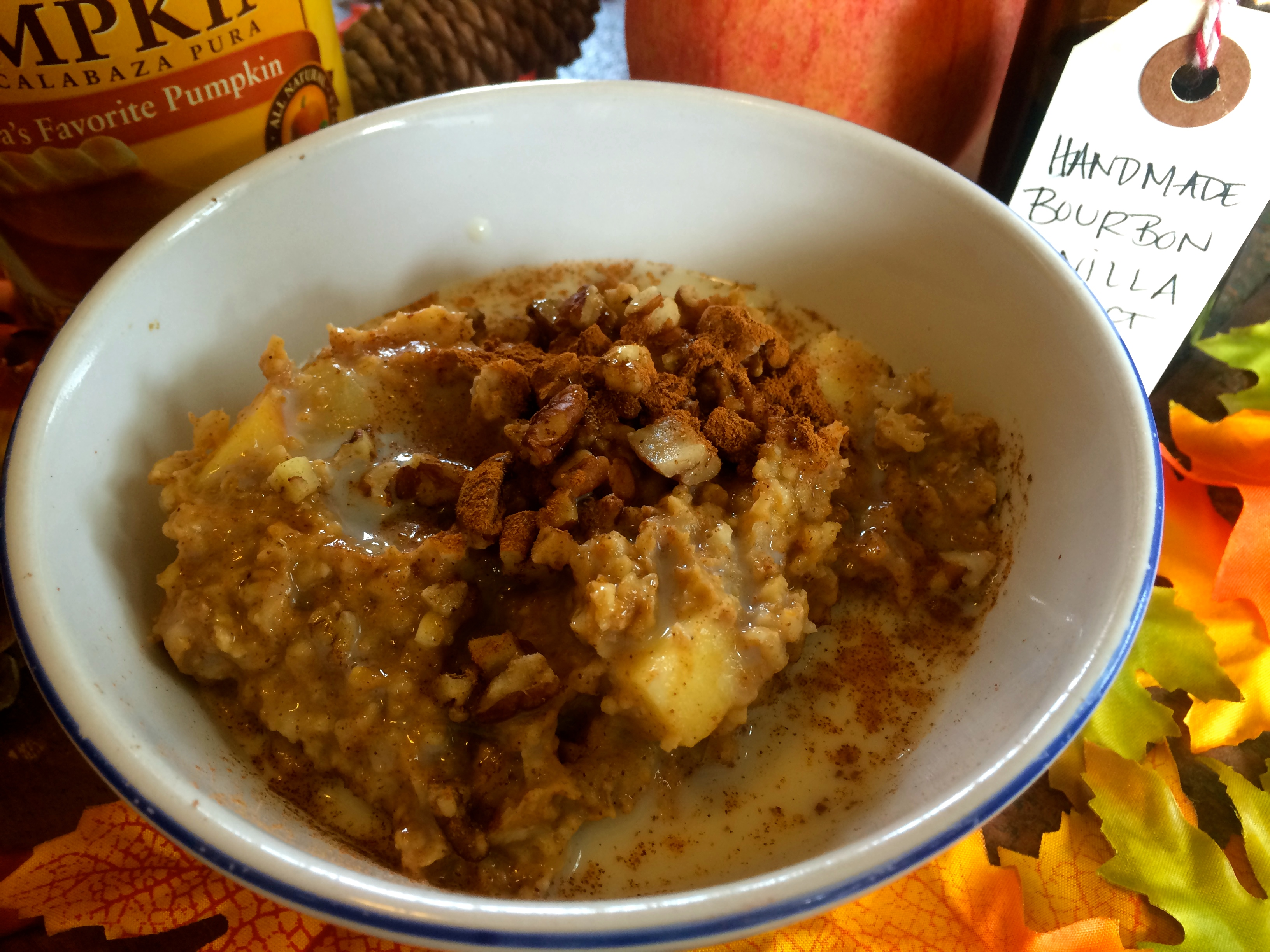 pumpkin spiced steel cut oats