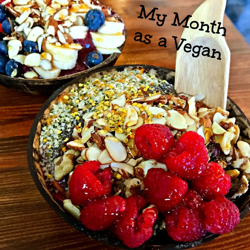 my month as a vegan