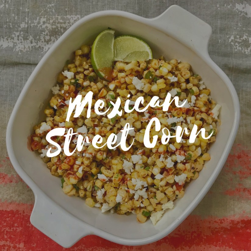 mexican street corn, elotes in a cup, healthy elotes recipe, healthy mexican corn recipe