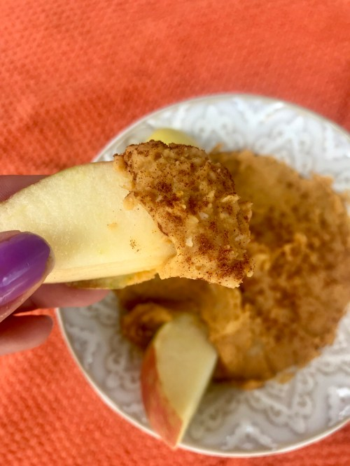 apple dip recipe, healthy apple dip, healthy hummus