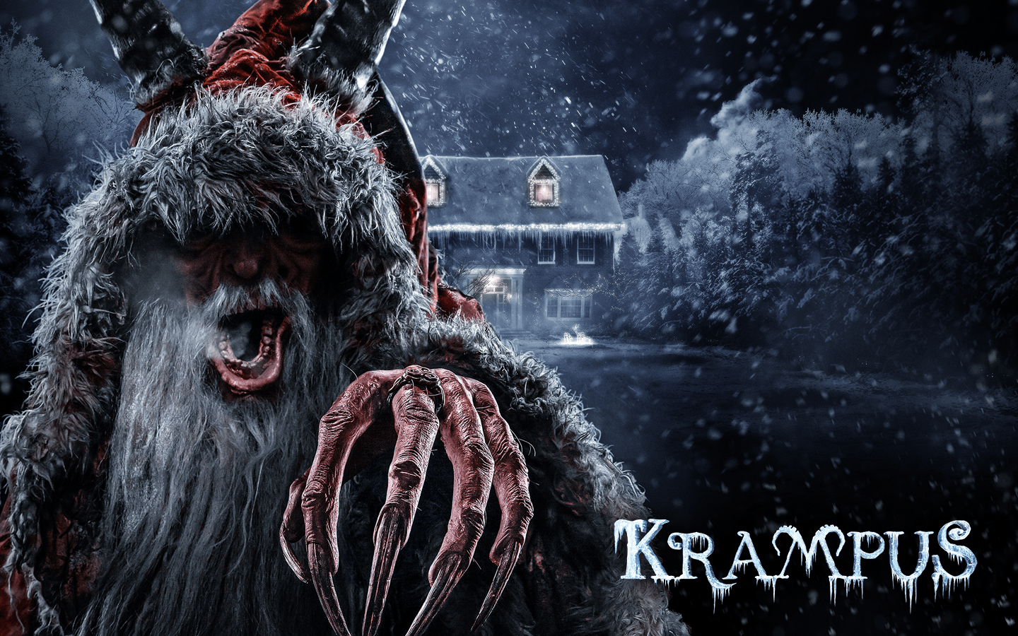 3d Roof Wallpaper Krampus Coming To Halloween Horror Nights 26