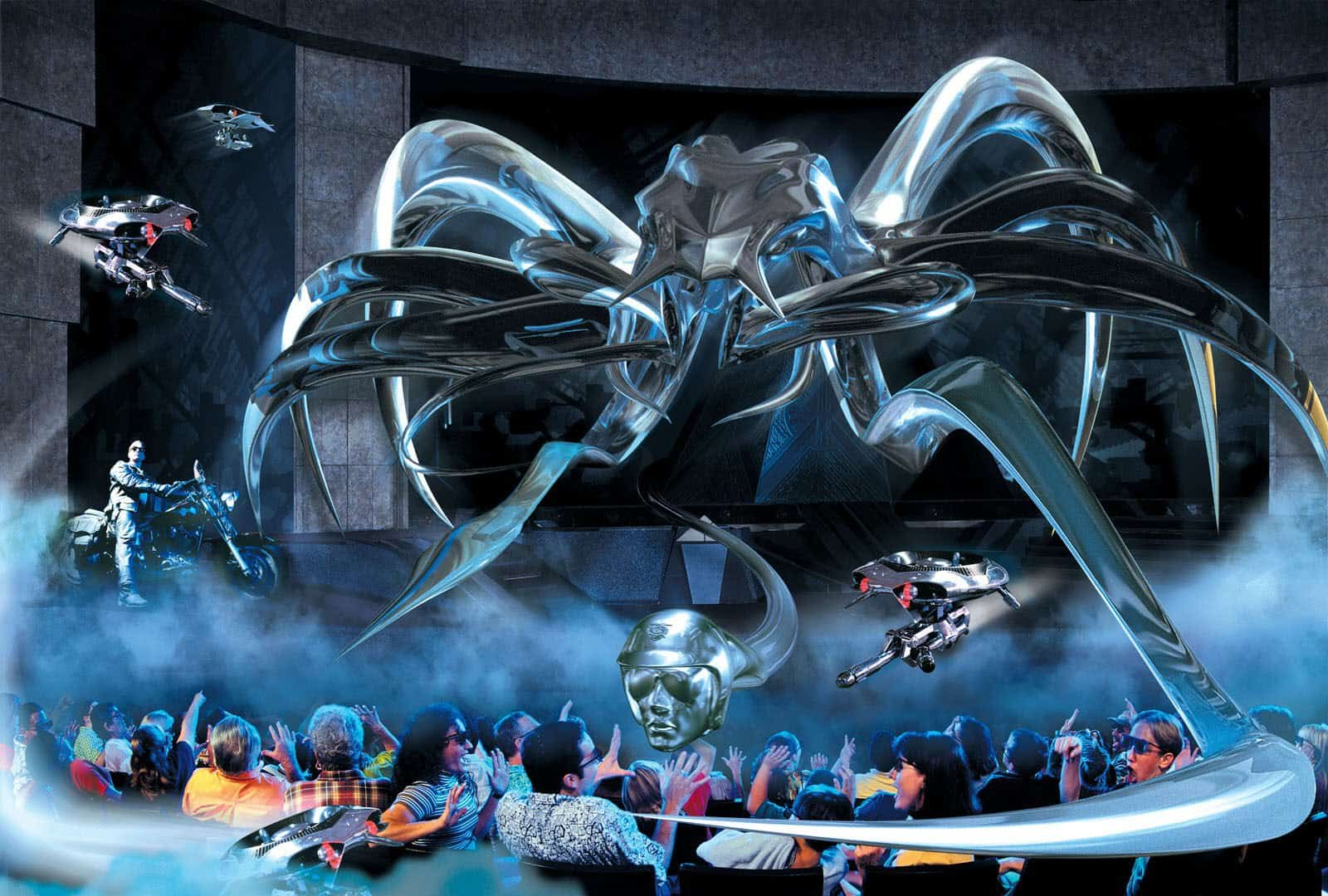 Wallpaper Chucky 3d Terminator 2 3d Closing For A New Attraction