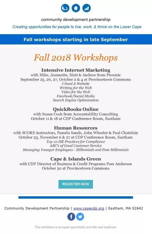 CDP Workshop \