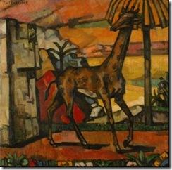 Теофил Фраерман Жираф 1918 год