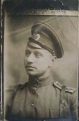 Владимир Бурлюк в военном училище