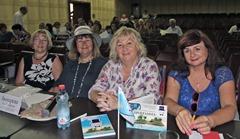 Жюри фестиваля (слева направо): Елена Галицких, Лола Звонарева, Лидия Григорьева, Ирина Силецкая