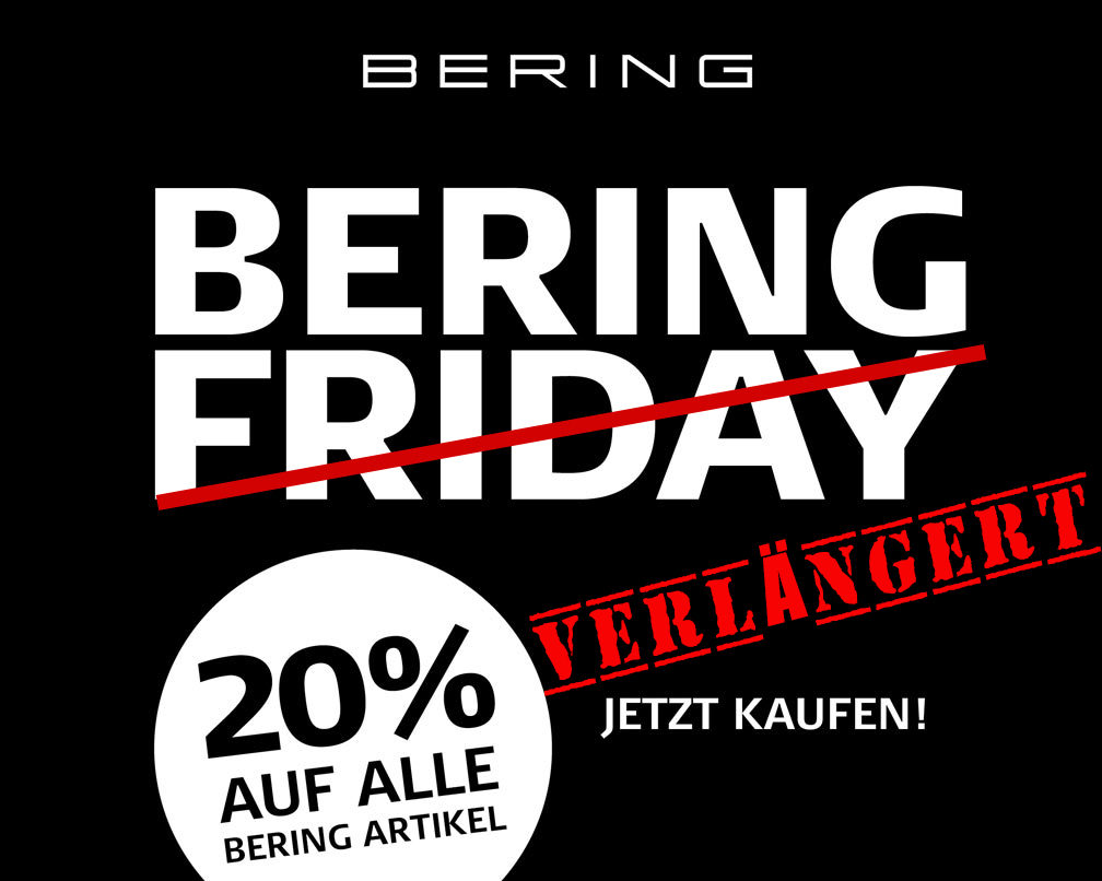 Black Friday Rabatt Black Friday Aktion Bering Uhren Mit 20 Rabatt Orotiamo