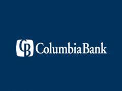 Columbia Bank blue rectangular logo