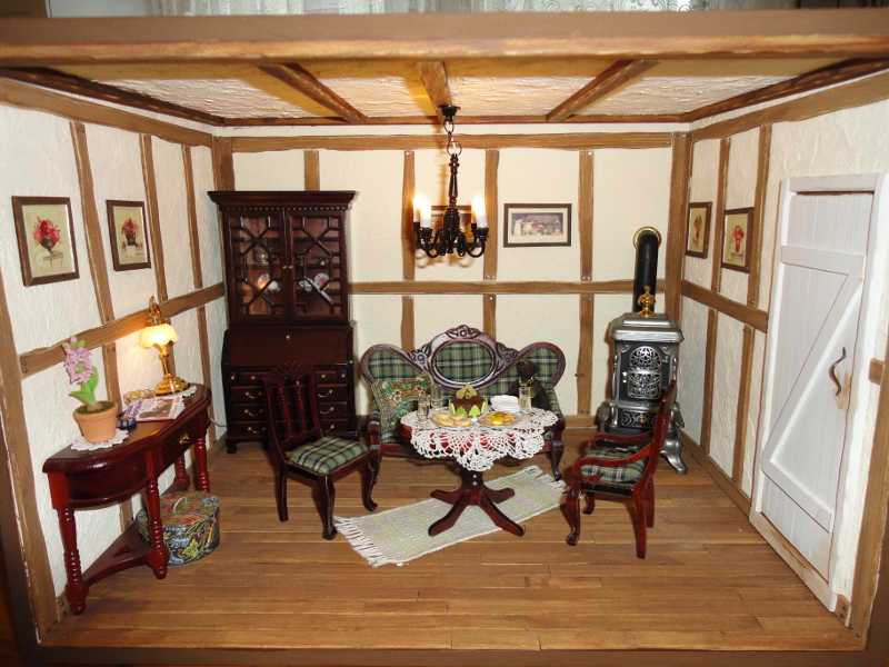The English country cottage - Orsiu0027s Miniatures My Dollhouses and