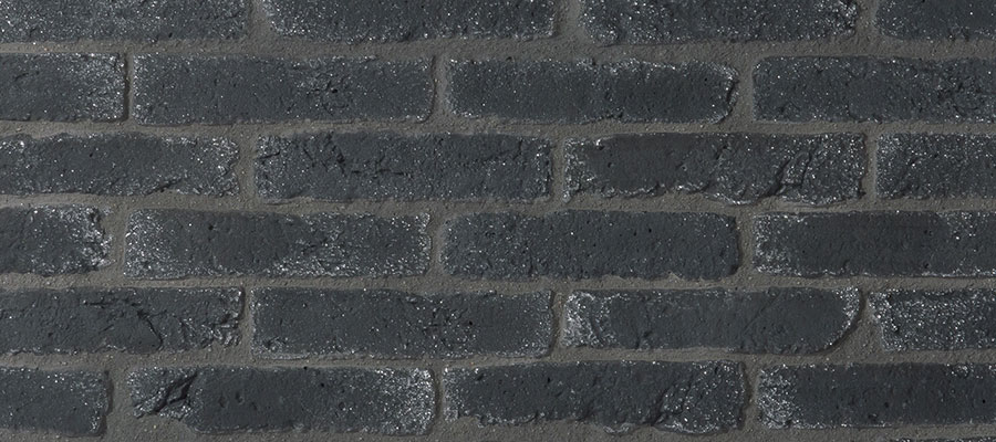 Orsol Brique Facing Brick Black & White - Orsol