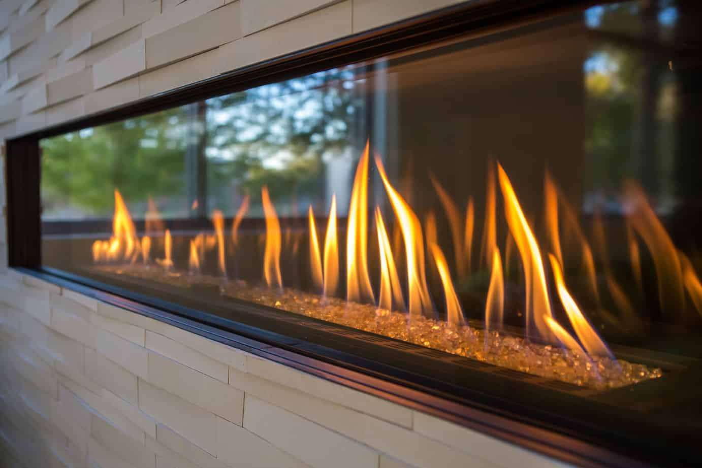 Ceramic Logs For Gas Fireplace Different Types Of Fire Media Illuminating Your Fireplace