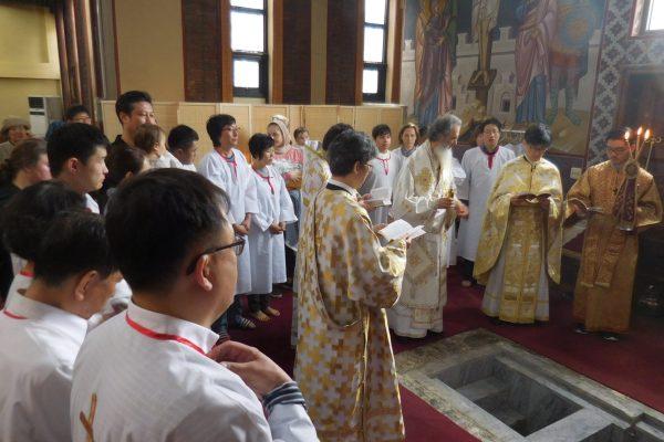 Baptisms - Sat of Lazarus 2016