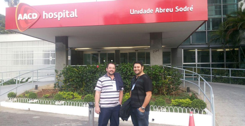 Ortesista/Protesista Manoel Luiz & Fisioterapeuta Danubio Fernando.