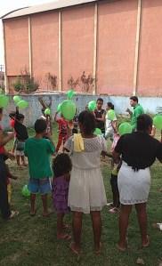 Momento onde foi apresentado algumas ações a comunidade voltadas ao Meio Ambiente pelos estudantes do IFF.