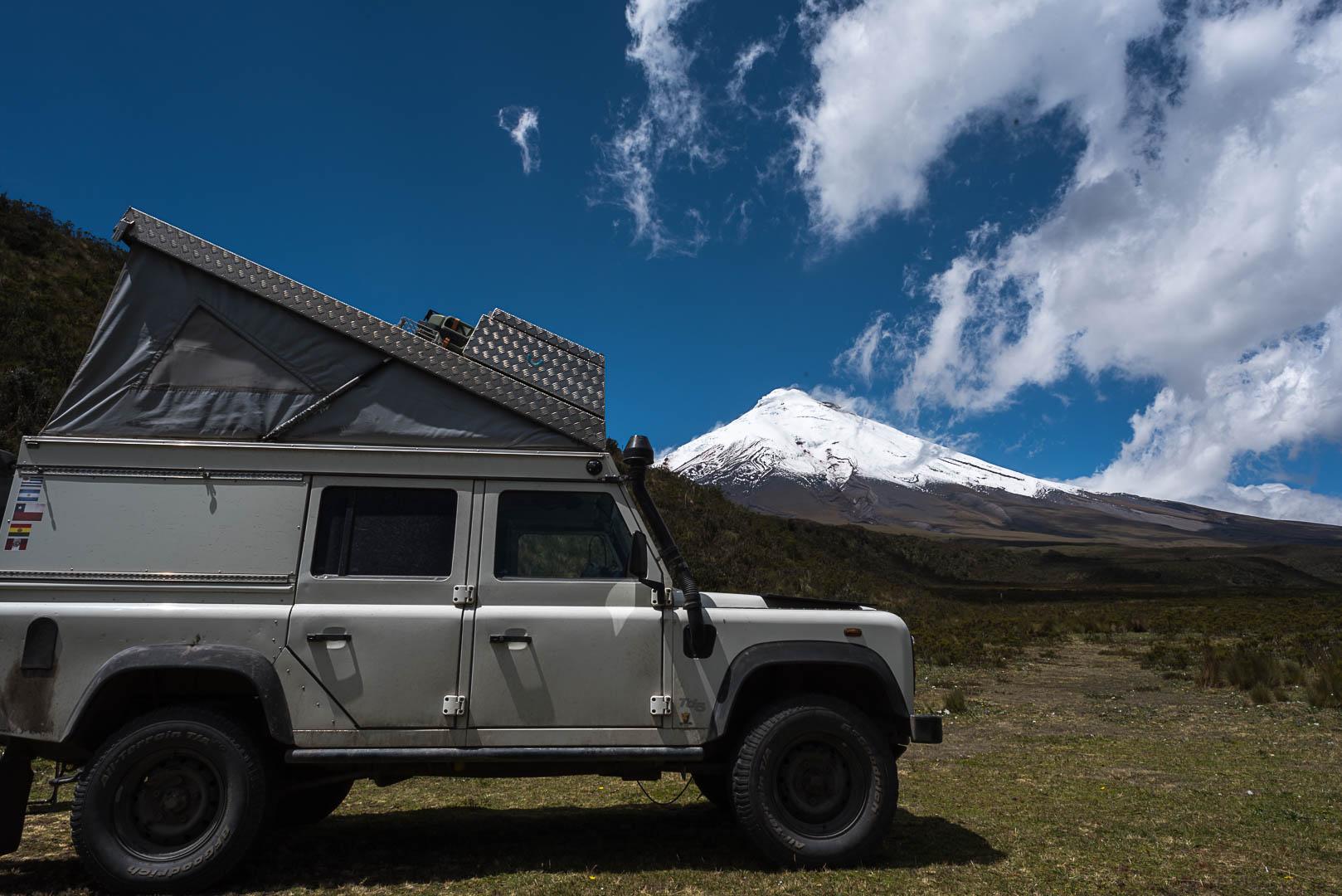Cuenca – Vulkan Chimborazo – Baños – N.P. Cotopaxi, Ecuador