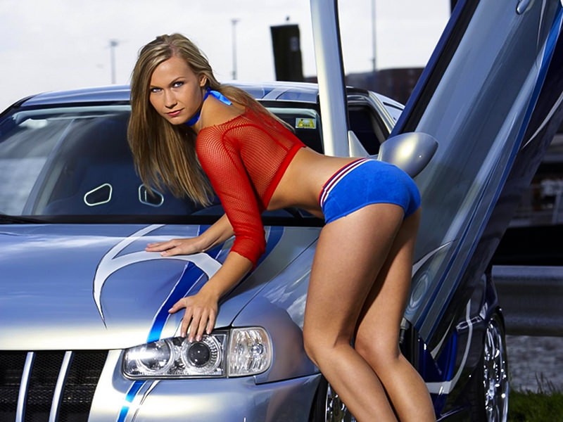 Car Drifting Wallpaper Hd 1080p Auto Show Event Sexy Girl Off Road Wheels