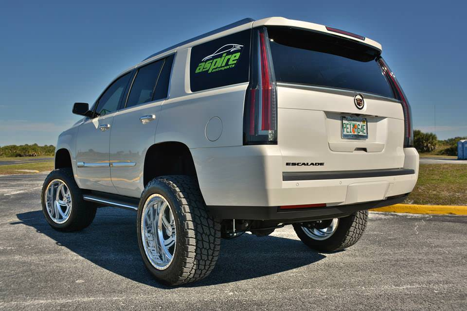 Www Hummer Limousine Car Wallpapers Com Lifted 2015 Cadillac Escalade Off Road Wheels