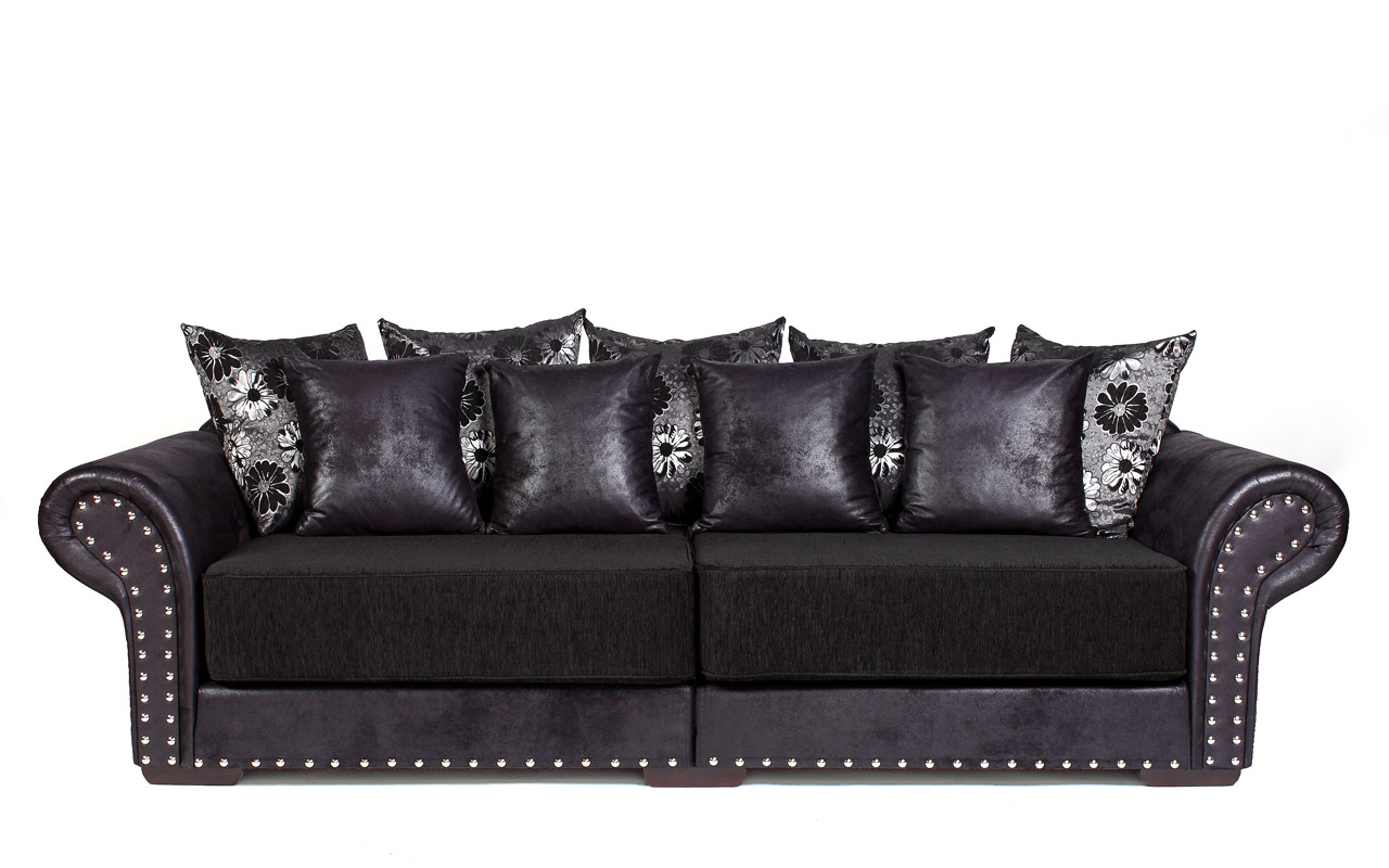 Ecksofa Kolonialstil Bettfunktion Couch Big Sofa Hawana 3 Mit Schlaffunktion Kolonialstil Os