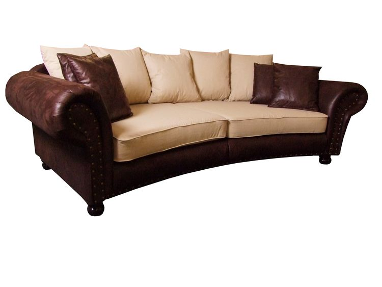 "Big Sofa Kolonialstil Couch Big Sofa ""hawana"" Kolonialstil Megasofa - Os"