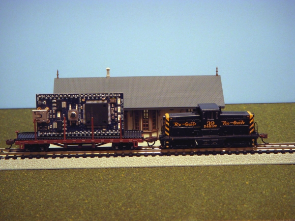 Controlling a Model Railroad using mbed Mbed