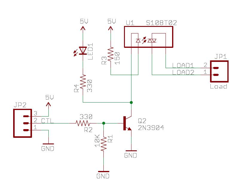 Solid State Relay Circuit Pdf circuit diagram template