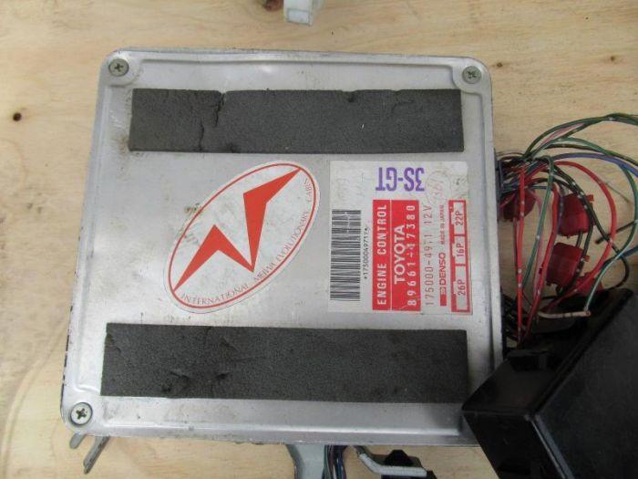 JDM 91-93 TOYOTA MR2 2ND GEN 3SGTE ENGINE WIRING HARNESS , ECU 89661