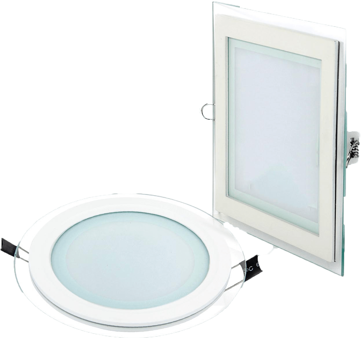 Led Panel Light Square And Round Led Glass Panel Round And Square Osaka Lighting Store