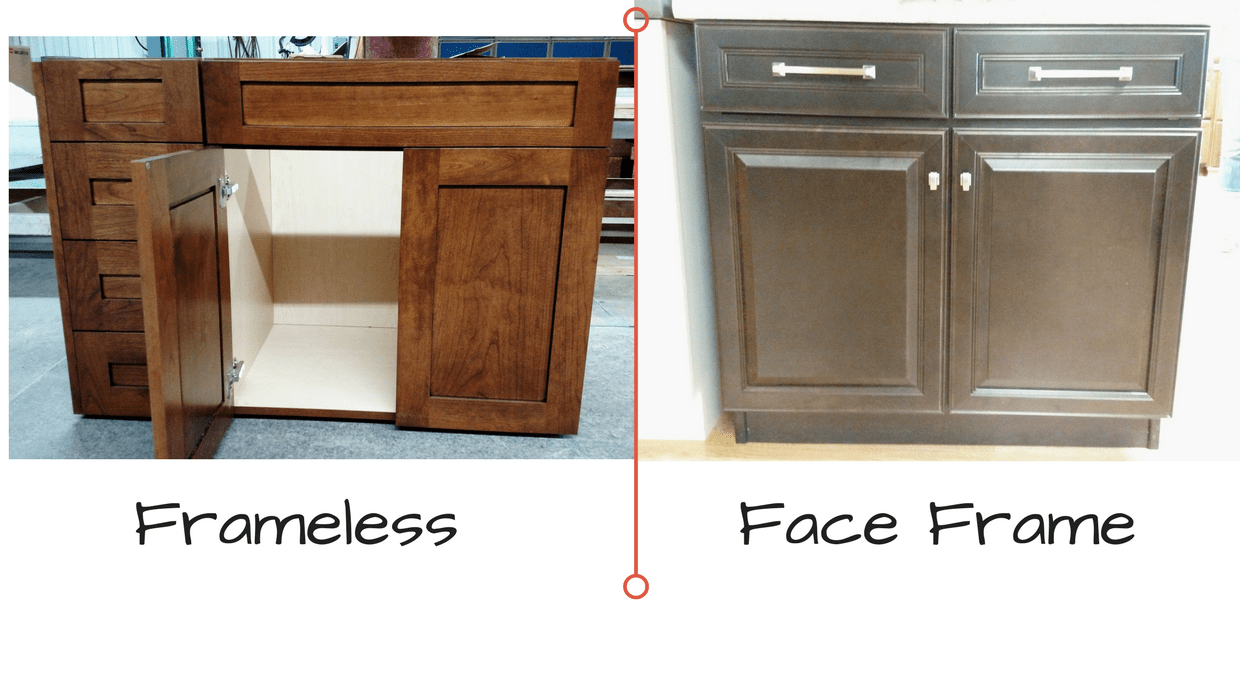 Frameless Kitchen Cabinets Vs Framed Kitchen Cabinet Basics: Picking Your New Kitchen Cabinets