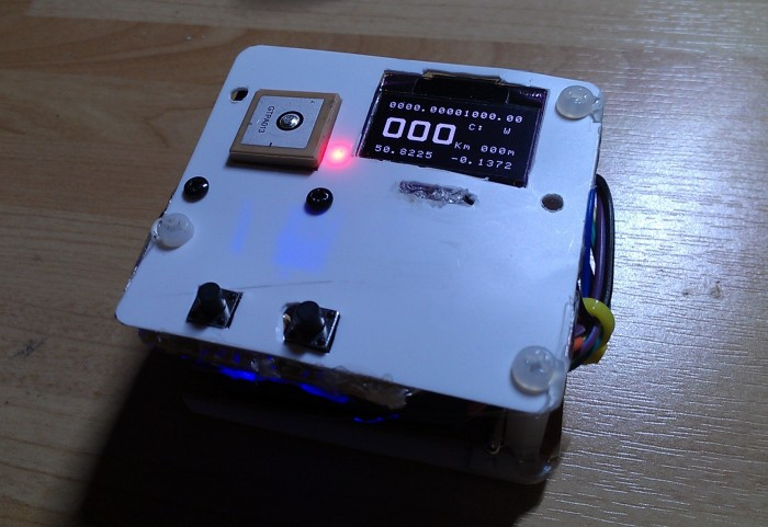 A Small Gps Arduino Watch Clock Oscar Liang