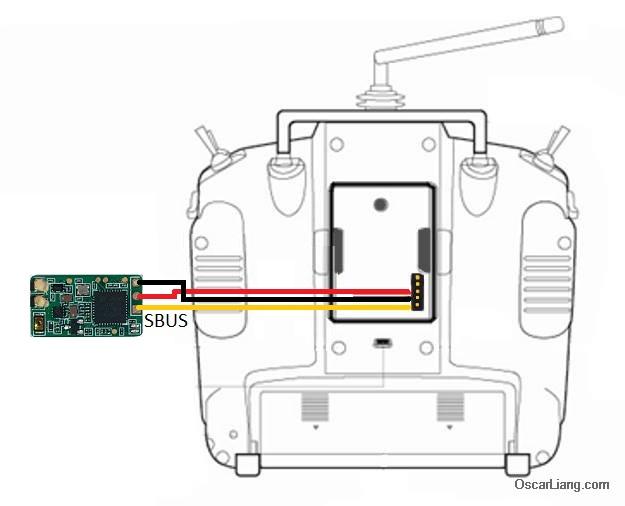 taranis x8r cc3d wiring diagram